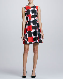 kate spade new york marti bow-back dress