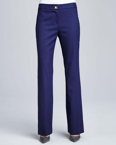 ali pyramid-button trousers
