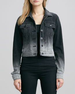 Vince Parker Ombre Denim Jacket
