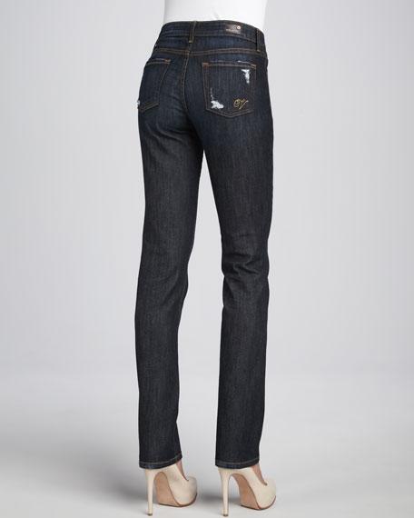 Santa Monica Straight-Leg Jeans