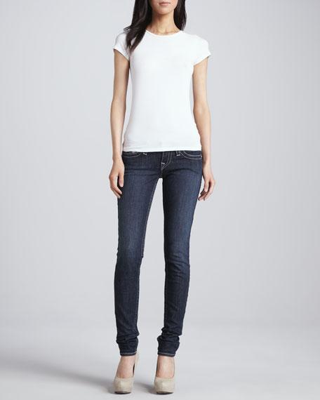 Stella Lonestar Low-Rise Skinny Jeans