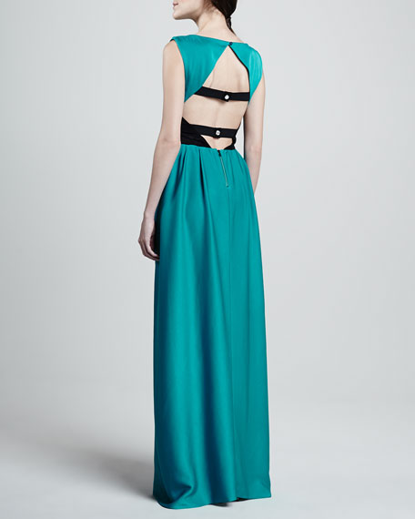 Gretchen Open Back Gown