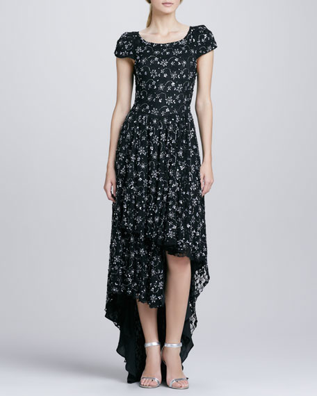 Glen Hi-Lo Dress