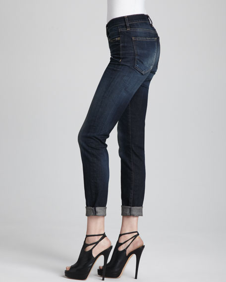 The Skinny Rolled Jeans