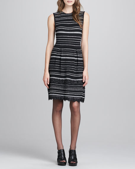 Decadence Striped Shift Dress