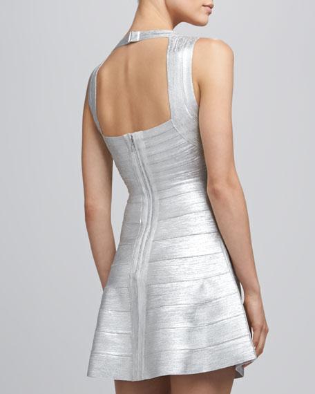 Silver Bandage Dress