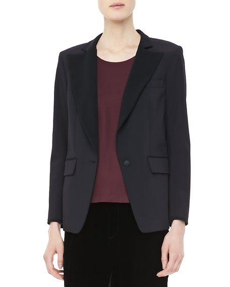 Rosenburg Single-Button Blazer