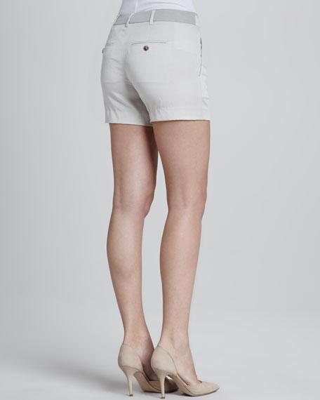 Silk Tipped Waistband Short