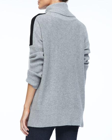 Cashmere Turtleneck Pullover