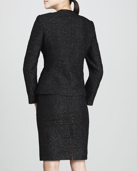 Metallic Tweed Suit