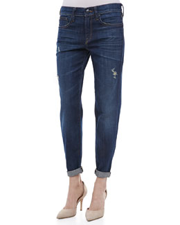 Vince Mason Relaxed Rolled Jeans