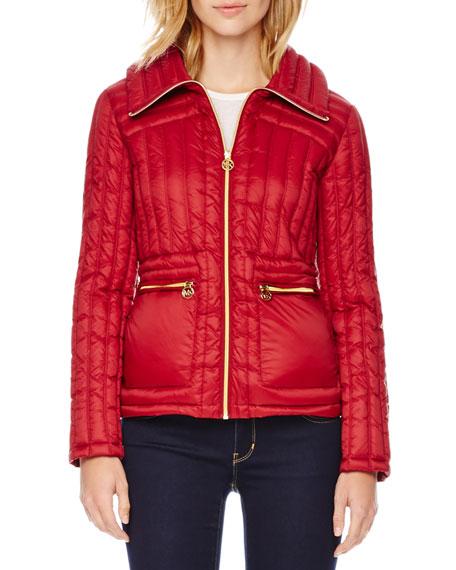 MICHAEL Michael Kors Nipped Puffer Jacket