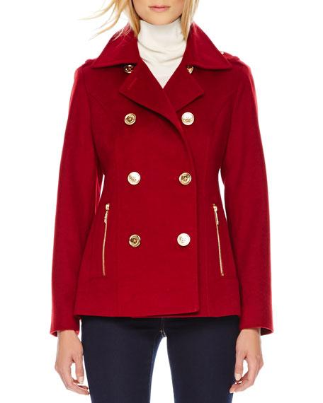 Wool/Cashmere Pea Coat