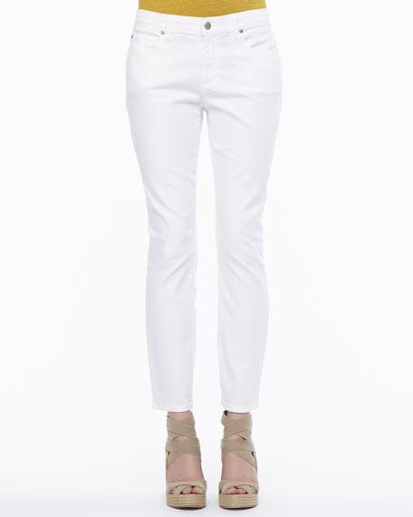 Skinny Ankle Jean Pants, Petite