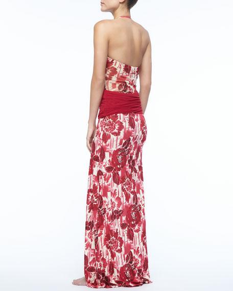 Floral Dress/Skirt Coverup