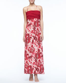 Jean Paul Gaultier Floral Dress/Skirt Coverup