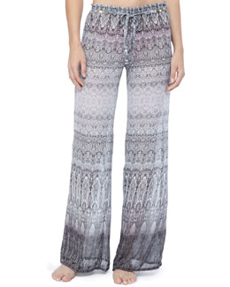 Luxe by Lisa Vogel Royal Treatment Coverup Pants