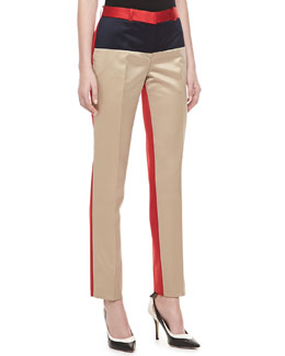 Michael Kors Colorblock Duchesse Pants