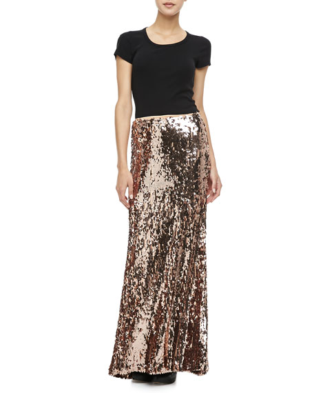 fe279fe7 Free People Sequins for Miles Maxi Skirt