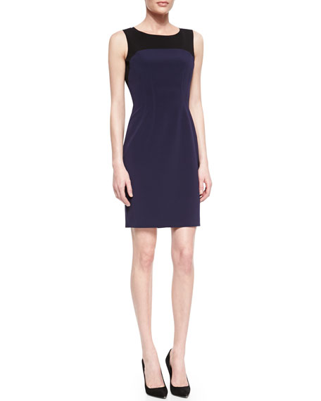 Suzie Boat-Neck Sheath Dress