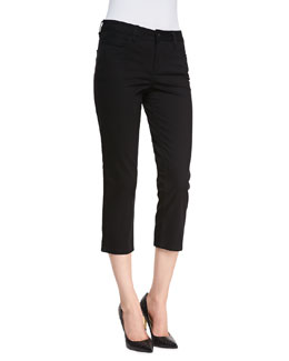Christopher Blue Chloe Cropped Newport Twill Pants