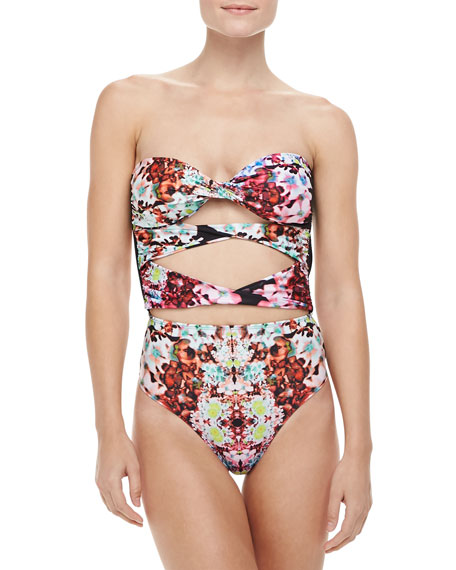 Tigre Floral-Print One-Piece Swimsuit