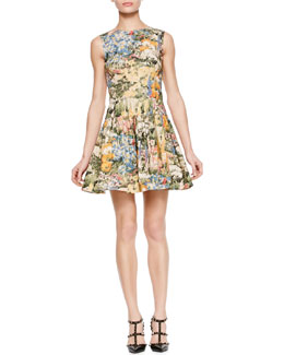 RED Valentino Wildflower Print Dress