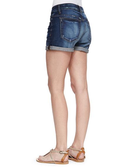 Darla Cuffed Denim Shorts