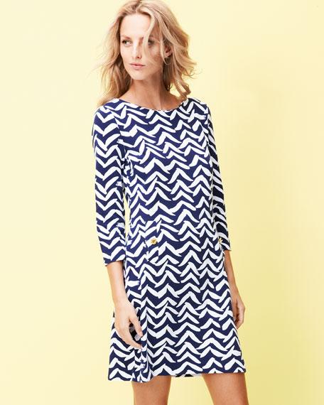 Charlene Printed Dress
