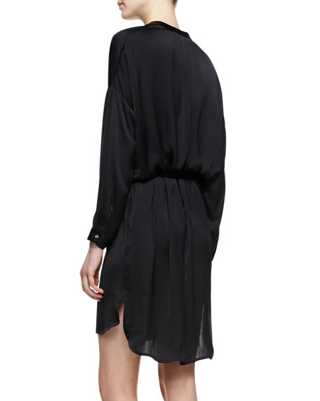 Split-Neck Popover Tunic