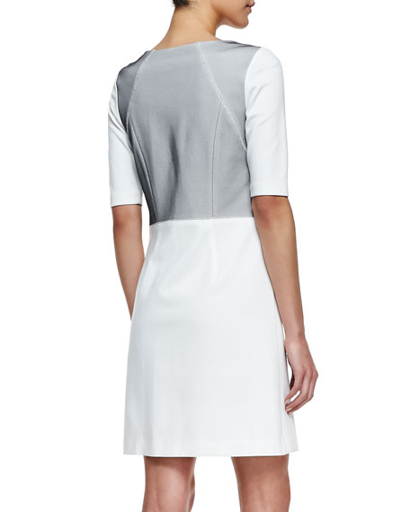 Milena Short-Sleeve Dress