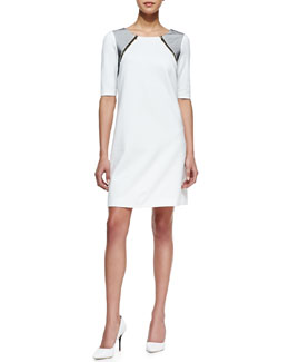Trina Turk Milena Short-Sleeve Dress