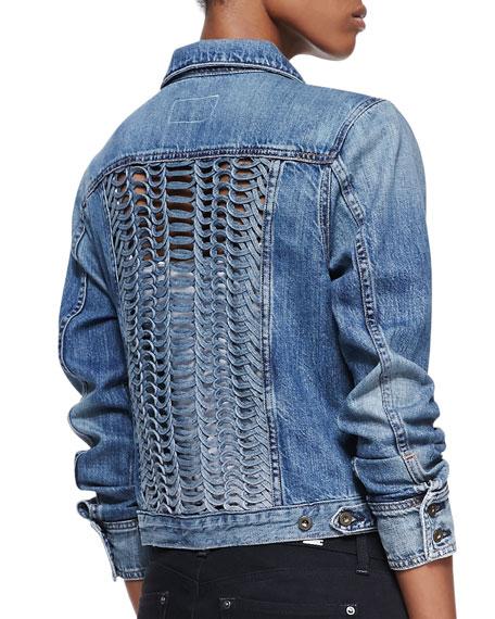 Bonnaz Loop-Panel Denim Jacket