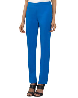 Lafayette 148 New York Fundamental Bi-Stretch Pants