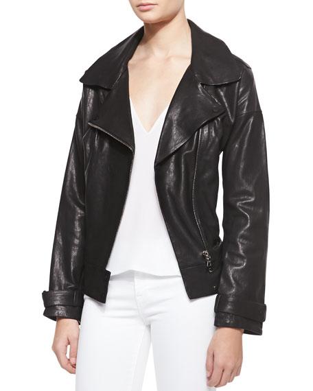 Durham Leather Long-Sleeve Jacket