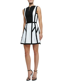 Robert Rodriguez Graphic Spear Sleeveless Dress