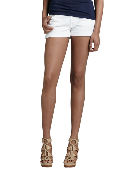 ROLL UP SHORT / CLEAN WHITE
