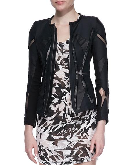 Allegra Mesh-Inset Jacket