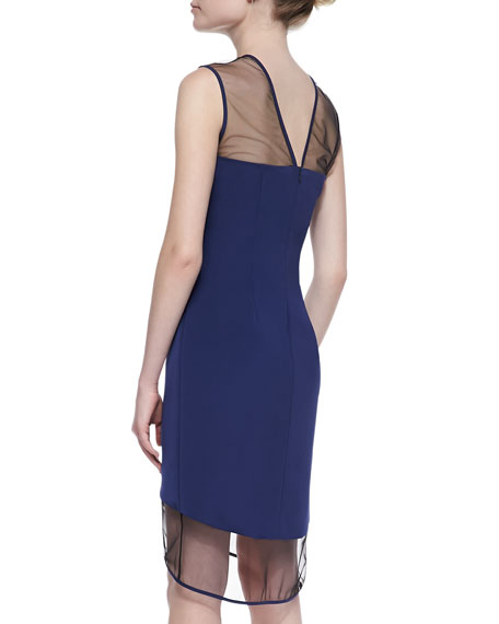 Marsella Sleeveless Dress, Navy