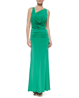 BCBGMAXAZRIA Nicole Open-Back Dress, Petite