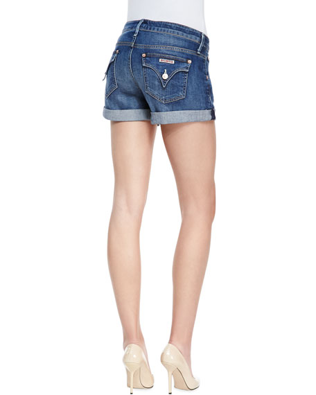 Hampton Hackney Denim Rolled Shorts