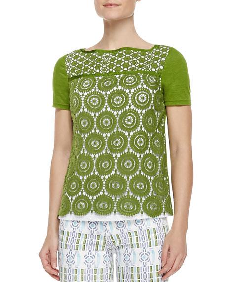 Margaux Crochet-Front Top