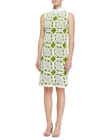 Lexi Cotton Crochet Dress