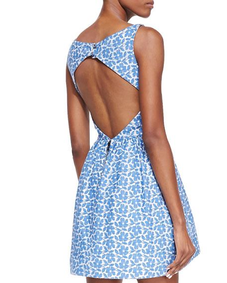 Lillyanna Printed Floral Dress