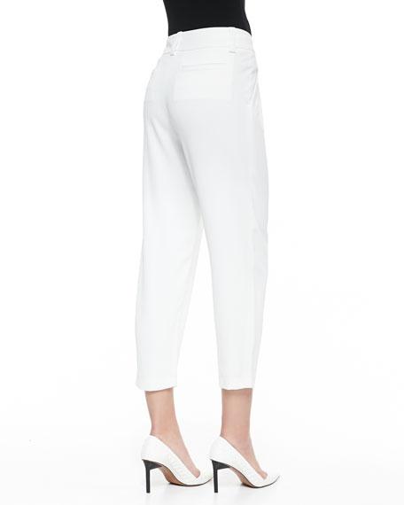 Arthur Knit Lined Pants, White