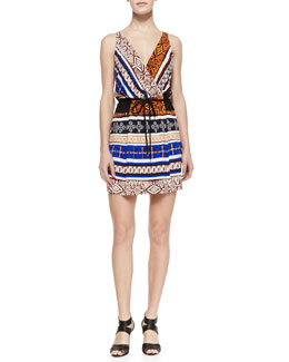 Diane von Furstenberg New Oblixe Wrapped Dress