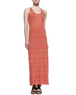 Vince Slub Racerback Maxi Dress, Chili