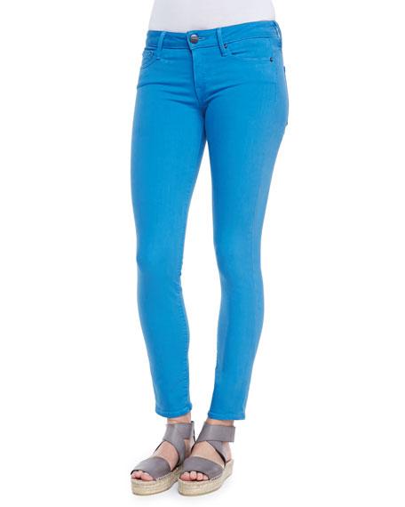 Riley Lightweight Legging Jeans, Cote d'Azure