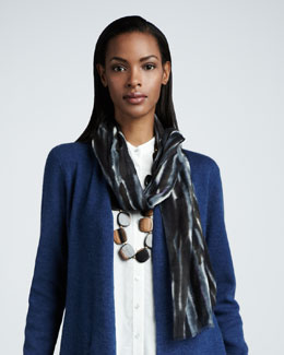 Eileen Fisher Blurred Scarf