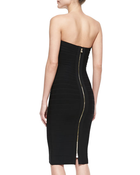 Sianna Strapless Formfitting Bandage Dress